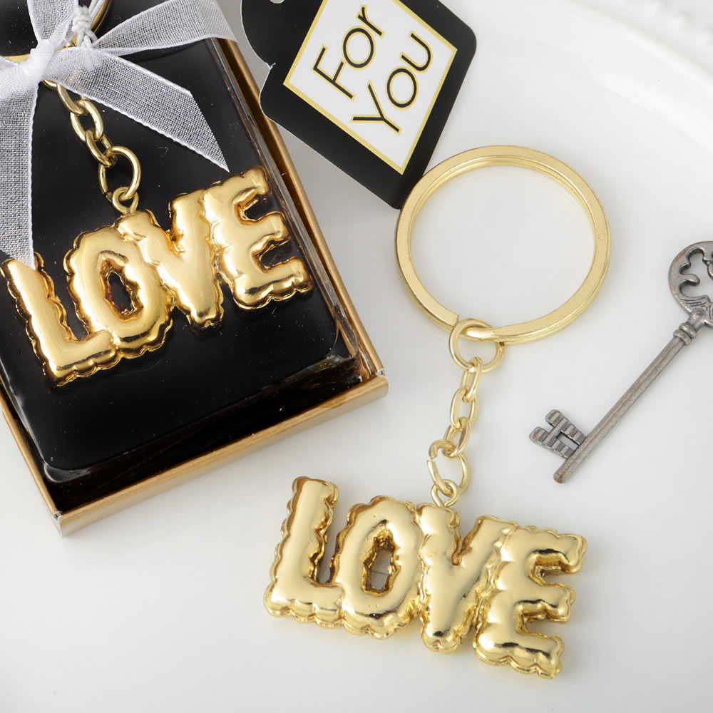 love key chain with