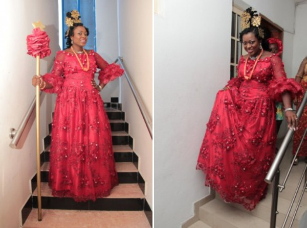 efik bridal attire