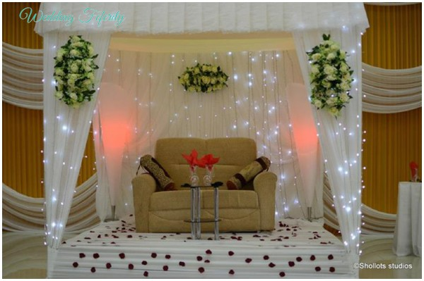 Nigerian Wedding Decor White Weddings