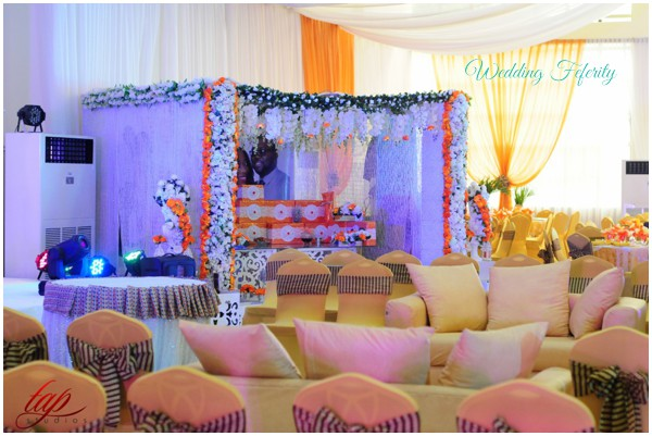 Nigerian Wedding Decoration Reception Venue Yoruba Lagos Traditional