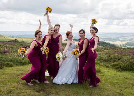 Bride and Bridesmaids Handties