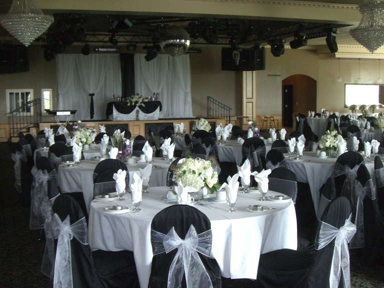 chair cover rentals langley outdoor lounge cushions decor vancouver floral and flowers