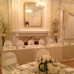 Ivory Satin Chair Covers Amish Rocking Cushions Decor Rentals Vancouver Floral And Flowers