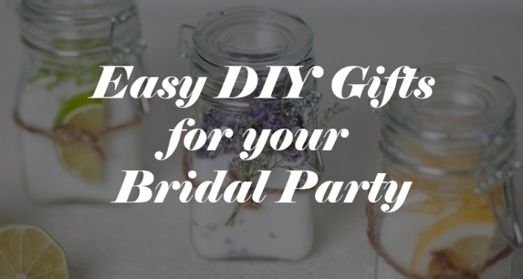 Budget Bridal Party Gifts Two Diy Projects Wedding For 1000