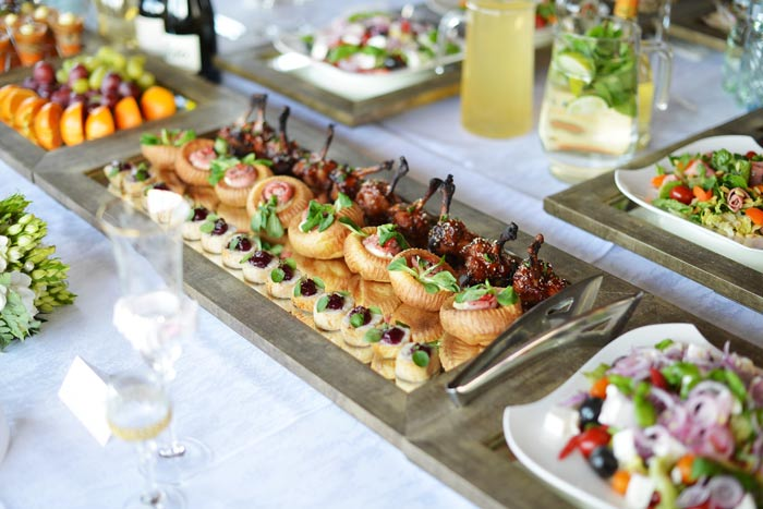 Amazing A Quick Guide To Wedding Catering For The Cool Kids