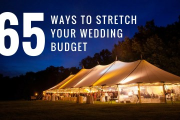 65 Ways to Stretch Your Wedding Budget Further - weddingfor1000.com featuring the Bella Sara Event Center!