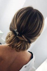 bridesmaid updos - elegant
