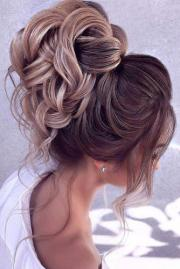 wedding hairstyles - romantic