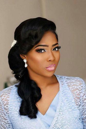 42 Black Women Wedding Hairstyles That Full Of Style Wedding Forward
