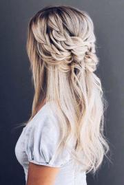 boho wedding hairstyles fall