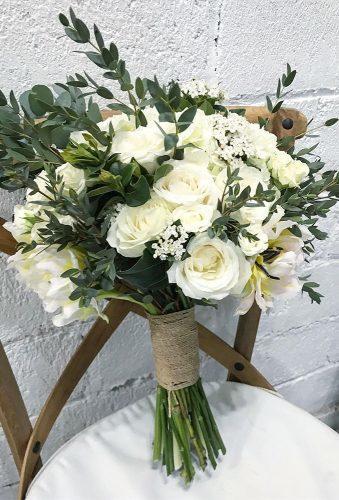 elegant wedding bouquets green white bouquet aisleproject