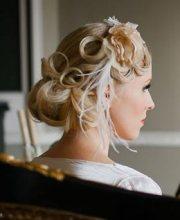 great gatsby style wedding shoot