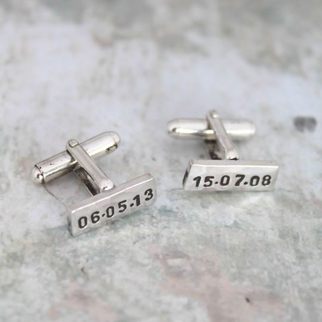 10-grooms-gifts-to-surprise-your-man-with-on-the-wedding-day-engraved-cufflinks-gettingpersonal.co.uk-£54.99