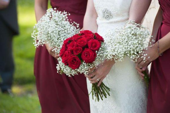 50 dos melhores buquês de casamento para noivas e empregadas domésticas © davidlovephotography.co.uk