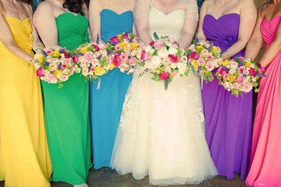 50 dos melhores buquês de casamento para noivas e empregadas domésticas © kerriemitchell.co.uk