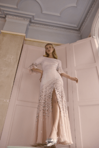 Temperley London Winter wedding dress celestial