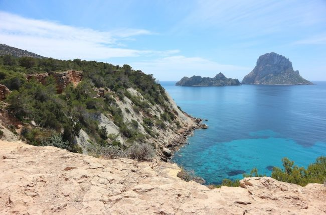 Ibiza cliff - The 5 Hottest Hen Weekend Locations in Europe