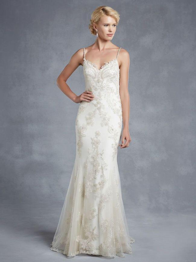 Best Lace Wedding Dresses straps