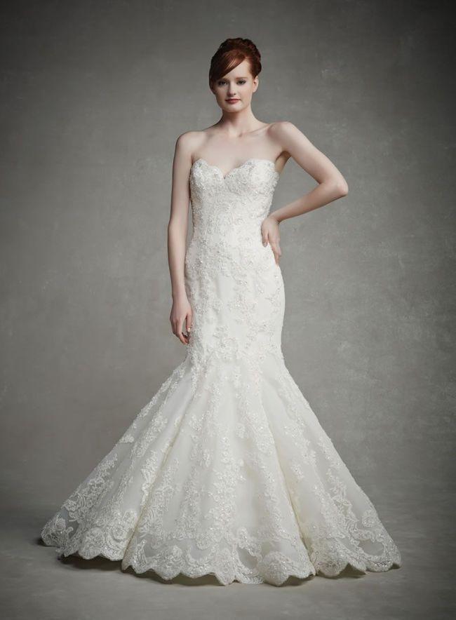 Best Lace Wedding Dresses strapless