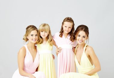 WIN Beautiful Bridesmaids Dresses With In One Clothing Worth £400!