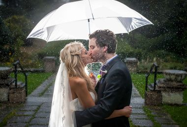 Wedding planner tool accurately predicts whether it's going to rain on your big day