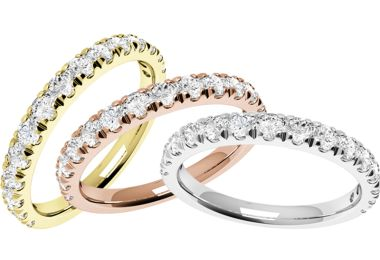 WIN Sparkling Wedding Rings By Purely Diamonds