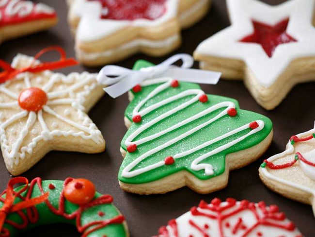 sugar cookie wedding favors christmas themed for festive bakes