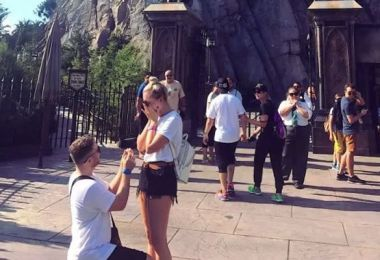 The Greatest Harry Potter Marriage Proposal EVER Just Happened…