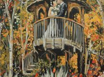 One of the first wedding bookings Deputy Editor Becci made was for a live painter, but what do they do, why would you want one and how do you book your own?