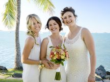 Dreaming of a destination wedding by the sea? Be inspired by the subtle styling of the outdoor ceremony at this ocean wedding in sunny Australia...
