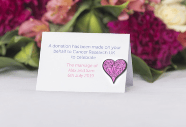 Nine wedding favours that will help save lives