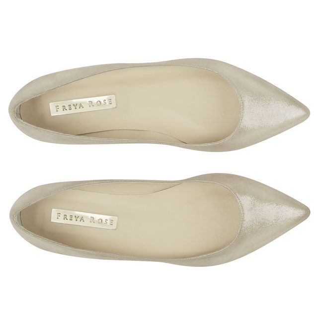 Freya Rose flat wedding shoes