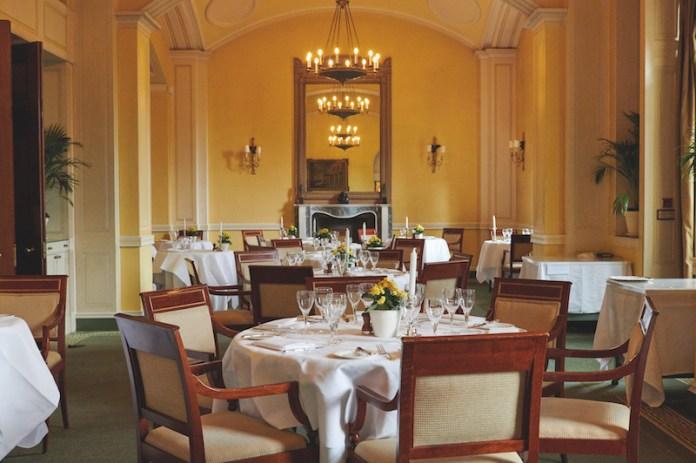 Hartwell House restaurant