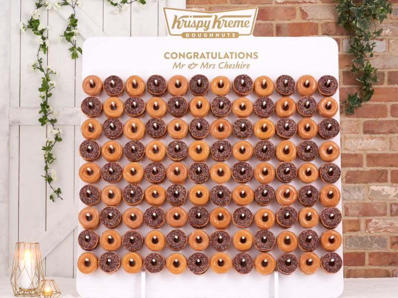 "krispy-kreme-wedding-donuts-wall ""width ="" 800 ""top ="" 600 ""srcset ="" https://www.weddingideasmag.com/wp-content/uploads/2020/01/krispy-kreme-wedding- donuts -wall.jpg 800w, https://www.weddingideasmag.com/wp-content/uploads/2020/01/krispy-kreme-wedding-doughnuts-wall-300x225.jpg 300w, https://www.weddingideasmag.com /wp-content/uploads/2020/01/krispy-kreme-wedding-doughnuts-wall-768x576.jpg 768w, https://www.weddingideasmag.com/wp-content/uploads/2020/01/krispy-kreme- wedding-donuts-wall-650x488.jpg 650w, https://www.weddingideasmag.com/wp-content/uploads/2020/01/krispy-kreme-wedding-doughnuts-wall-80x60.jpg 80w, https: // www.weddingideasmag.com/wp-content/uploads/2020/01/krispy-kreme-wedding-doughnuts-wall-265x198.jpg 265w ""sizes ="" (max-width: 800px) 100vw, 800px ""/></p data-recalc-dims="