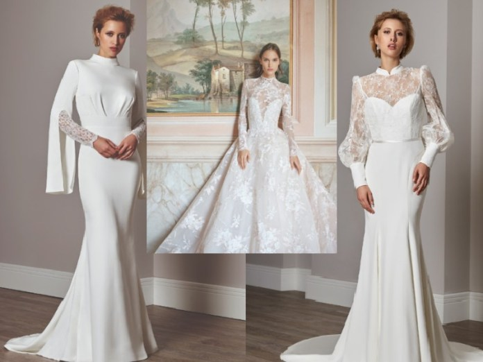 "long-sleeve-wedding-dresses ""width ="" 800 ""top ="" 600 ""srcset ="" https://i0.wp.com/www.weddingideasmag.com/wp-content/uploads/2020/02/long-sleeve-wedding-dresses.jpg?w=696&ssl=1 800w, https://www.weddingideasmag.com/wp-content/uploads/2020/02/long-sleeve-wedding-dresses-300x225.jpg 300w, https://www.weddingideasmag.com/wp-content/uploads /2020/02/long-sleeve-wedding-dresses-768x576.jpg 768w, https://www.weddingideasmag.com/wp-content/uploads/2020/02/long-sleeve-wedding-dresses-650x488.jpg 650w , https://www.weddingideasmag.com/wp-content/uploads/2020/02/long-sleeve-wedding-dresses-80x60.jpg 80w, https://www.weddingideasmag.com/wp-content/uploads/ 2020/02 / long-sleeve-wedding-dresses-265x198.jpg 265w ""sizes ="" (max-width: 800px) 100vw, 800px ""/><figcaption id="