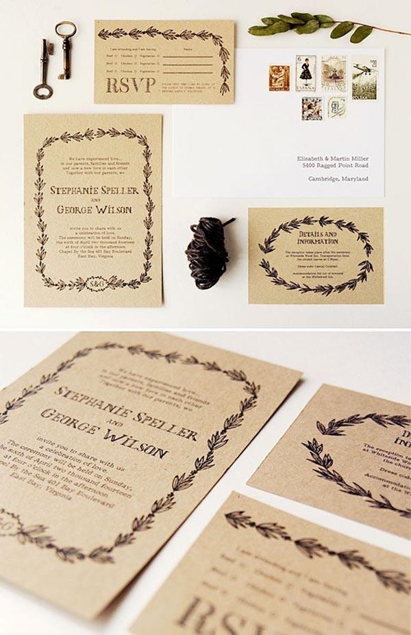 Top 15 Por Rustic Wedding Invitaitons Idea Sles On Bunting Printable Invitation Suite