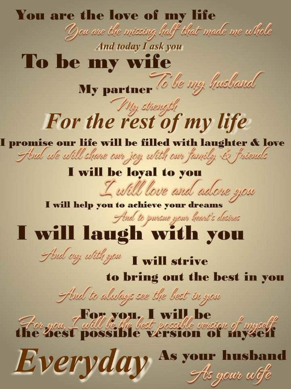 Funny Wedding Vows Make Your Guests Happycry