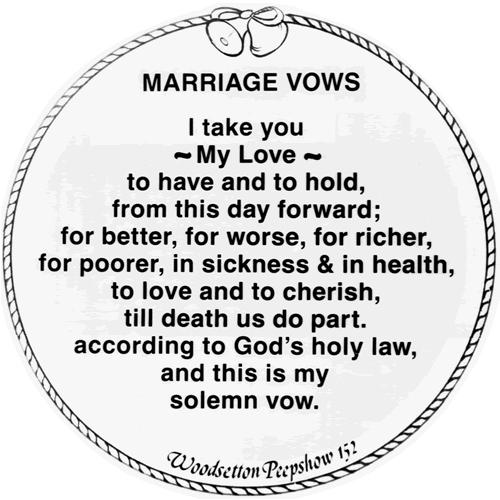 20+ Traditional Wedding Vows Example Ideas You'll Love