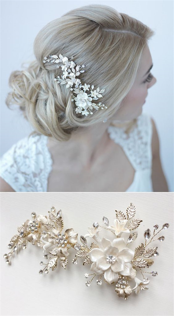 Hair Comes The Bride 20 Bridal Hair Accessories Get