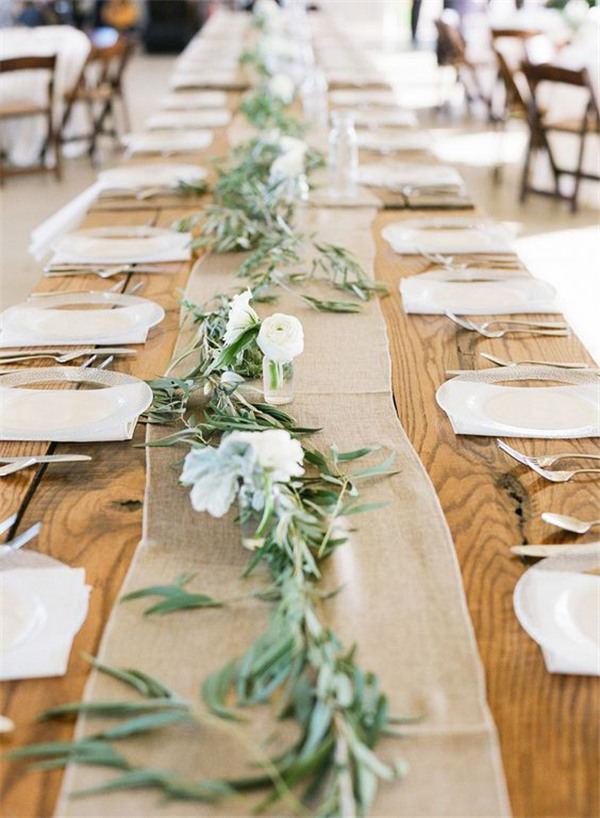 22 rustic burlap wedding