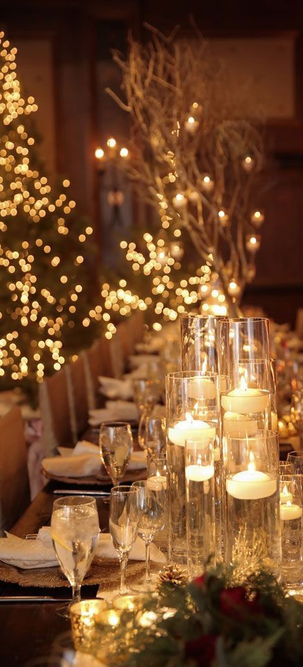 20 Stuning Wedding Candlelight Decoration Ideas You Will Love