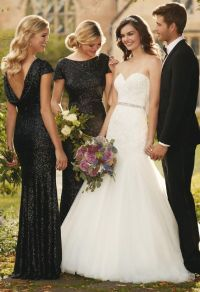 Dont Miss These 22 Black Bridesmaid Dresses for Your Fall ...