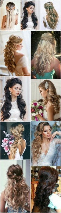 18 Creative and Unique Wedding Hairstyles for Long Hair ...