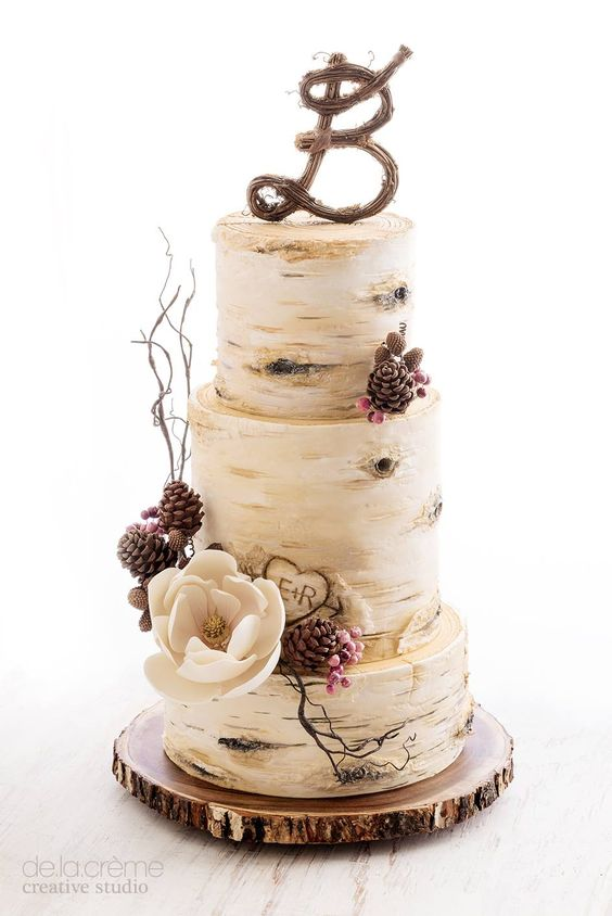 Fall in Love with These 29 Amazing Fall Wedding Cakes