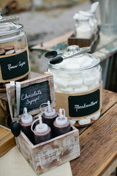Wedding Smore Bar Ideas  Watermouthing Dessert Bar