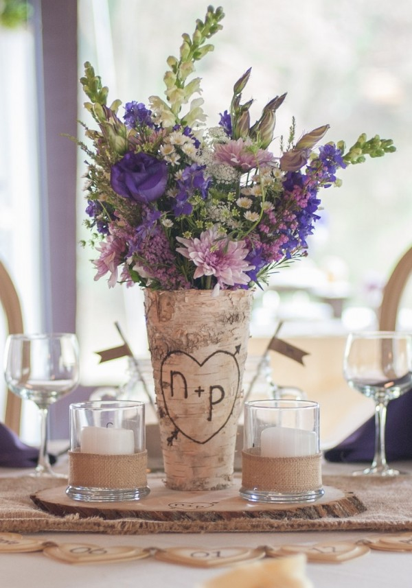 26 Ideas to Rock Your Winter Wedding with Birch Centerpieces  Page 2