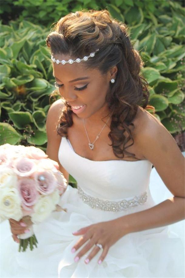 20 Wedding Updo Hairstyles For Black Brides Trubridal Wedding Blog