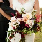 16 Elegant Burgundy And Blush Wedding Bouquet Ideas Weddinginclude