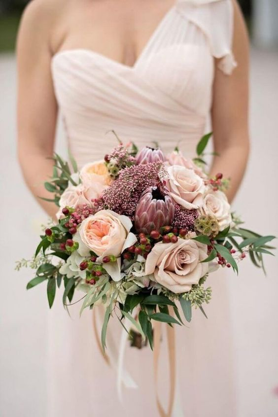 18 Romantic Dusty Rose Wedding Color Ideas For 2018