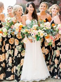 22 Floral Print Bridesmaid Dresses for Spring and Summer ...